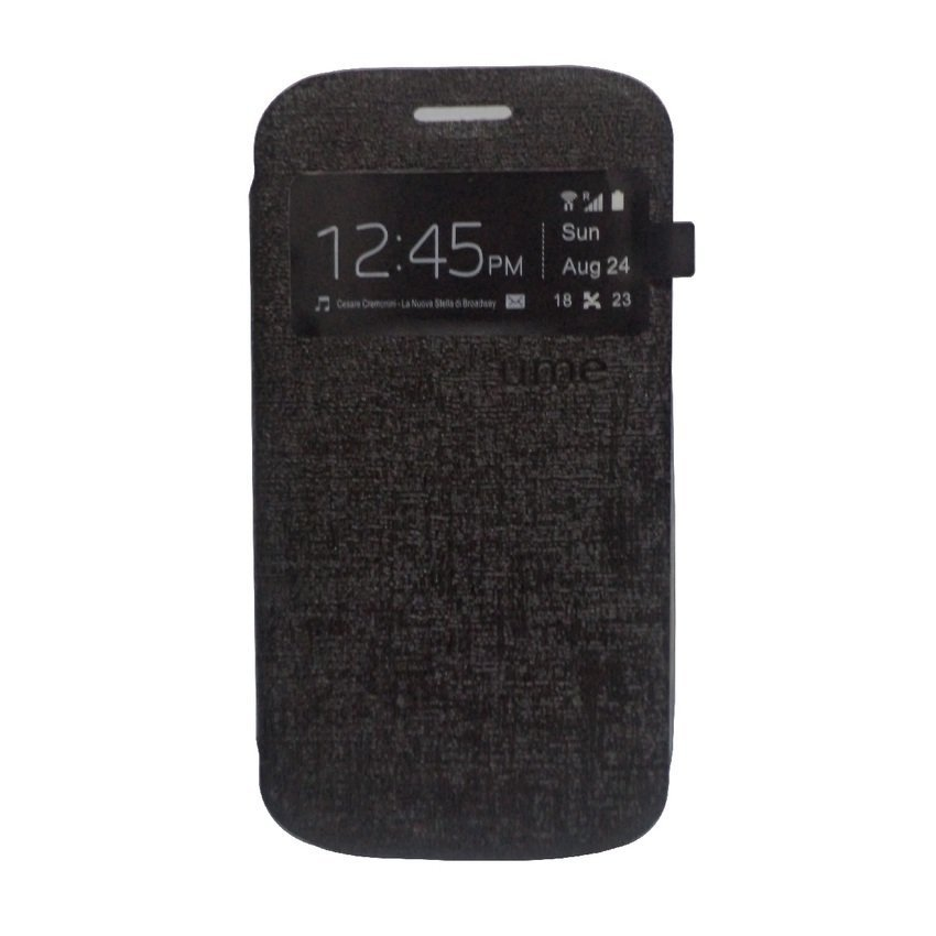 Ume Flip Cover for LG G3 Stylus - Hitam