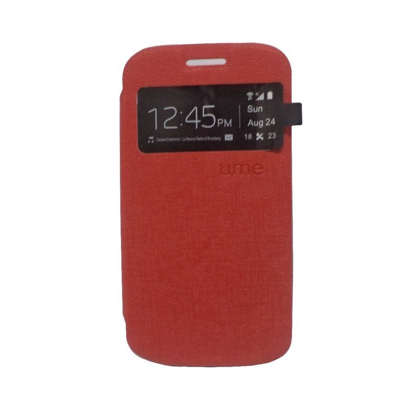 Ume Flip Cover for LG G3 Stylus - Merah