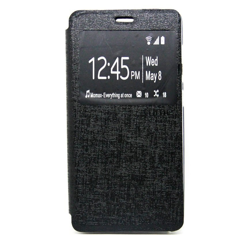 Ume Flip Cover for Meizu M2 Note -Hitam