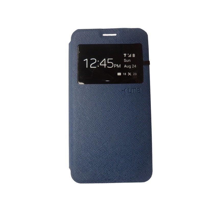 Ume Flip Cover for Xiaomi Redmi 2 - Biru Dongker
