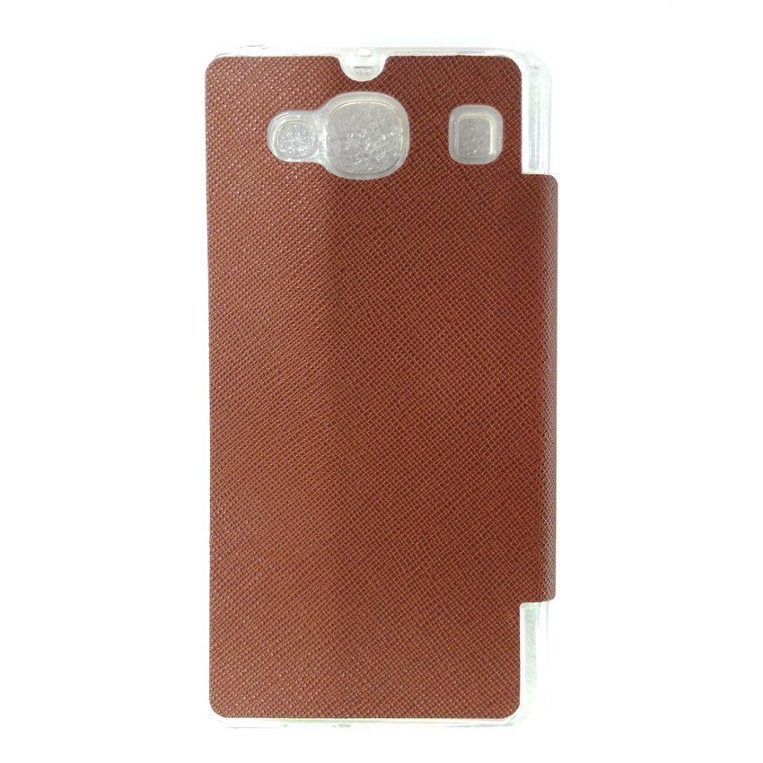 Ume Flip Cover For Xiaomi Redmi 2 - Cokelat