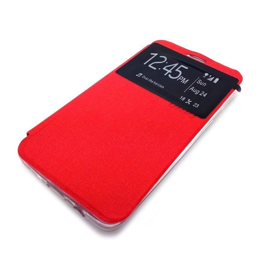 Ume Flip Cover For Xiaomi Redmi 2 - Merah