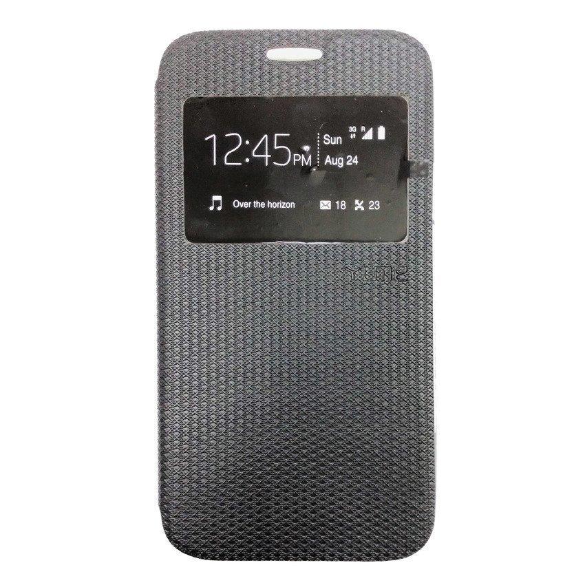 Ume Flip Cover Samsung Galaxy E7 - Hitam