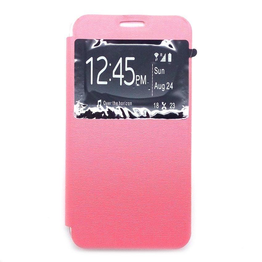 Ume Flip Cover untuk Asus Zenfone Go 4.5 inch - Pink