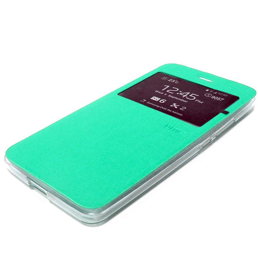 Ume Flip Cover Untuk Asus Zenfone Max ZC550KL- Hijau Tosca