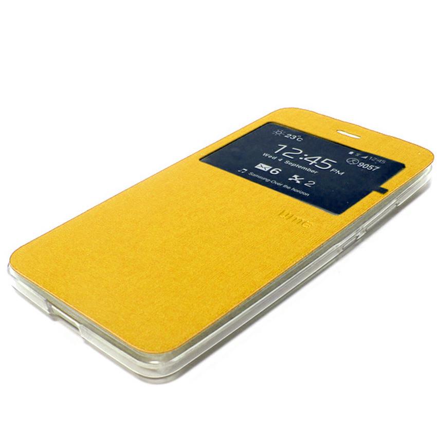 Ume Flip Cover Untuk Samsung Galaxy S7- Emas