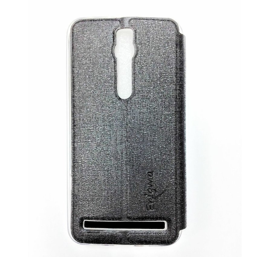 Ume Flip Cover View For Asus Zenfone 2 ZE550ML/ZE551ML- Hitam