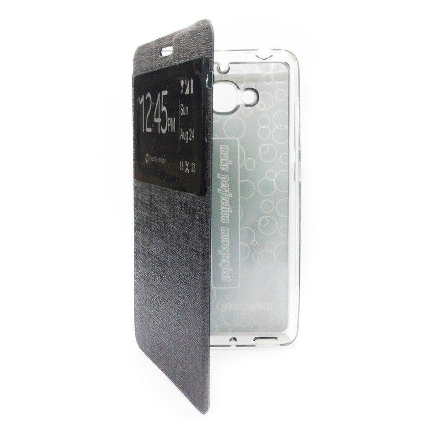 Ume Flip Cover View for Xiaomi Redmi 2 - Hitam