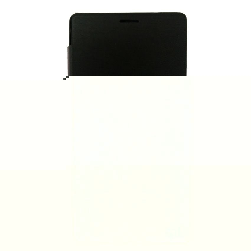 Ume Flip Cover View For Xiaomi Redmi Note - Hitam