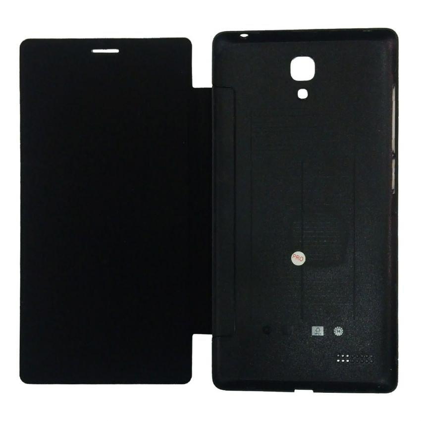 Ume Flip Cover View for Xiaomi Redmi Note - Hitam