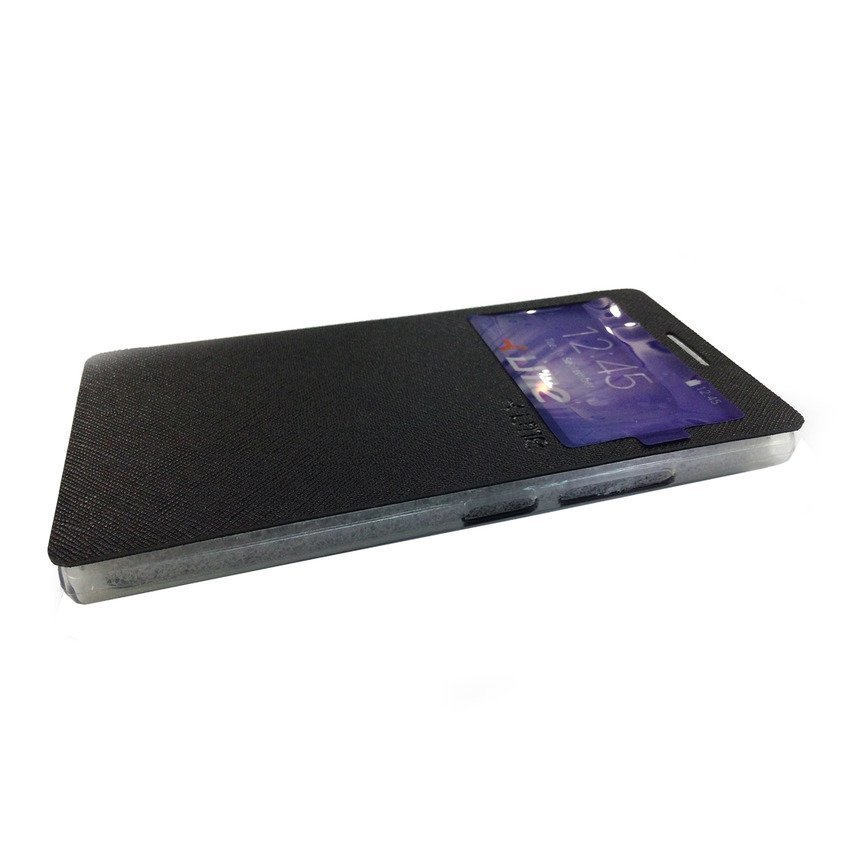 Ume Flip Cover View Lenovo P70 - Hitam