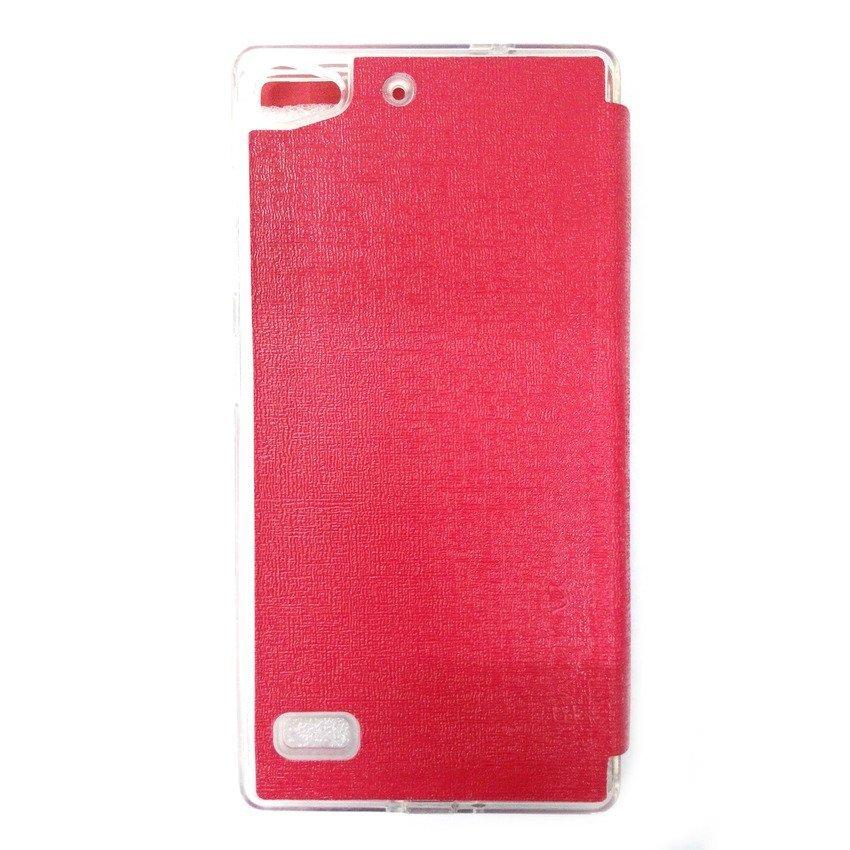 Ume Flip Cover View Lenovo Vibe X2 - Merah Muda