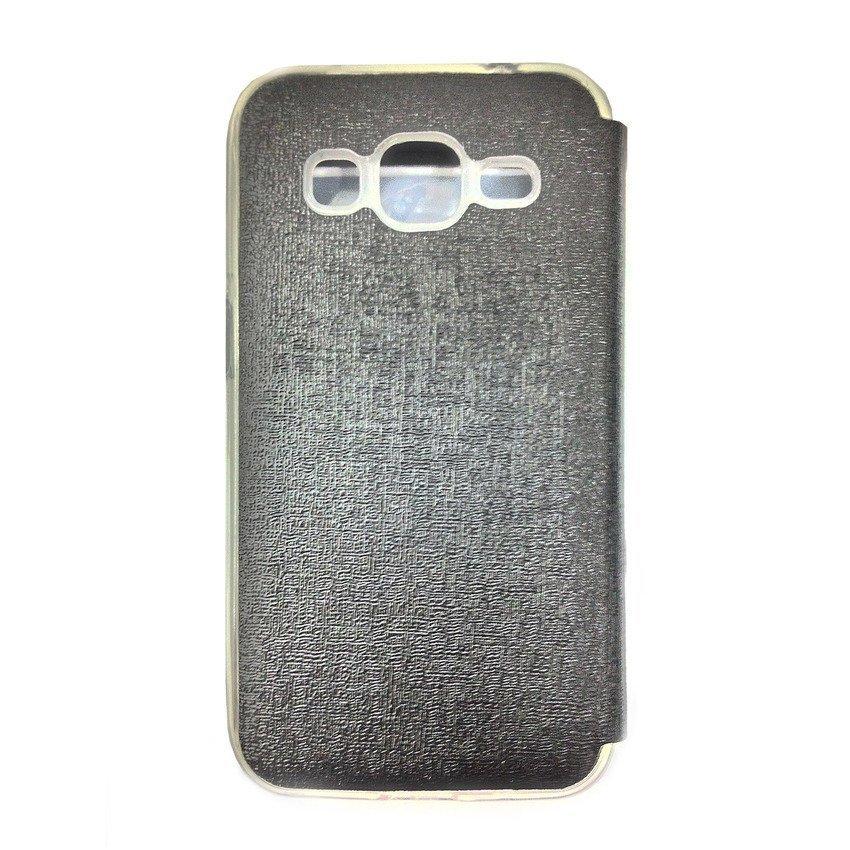 Ume Flip Cover View Samsung Galaxy J1 - Hitam