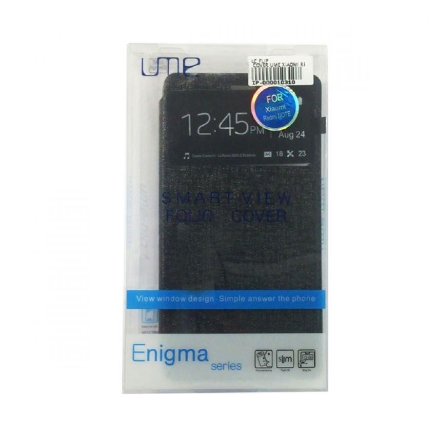 Ume Flip Cover Xiaomi Redmi Note Smart View - Black