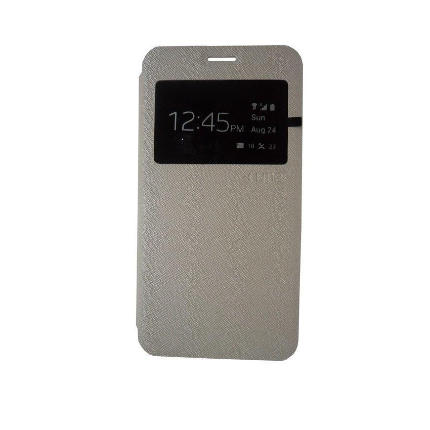 Ume Leather Case For Lenovo A6000 - Putih