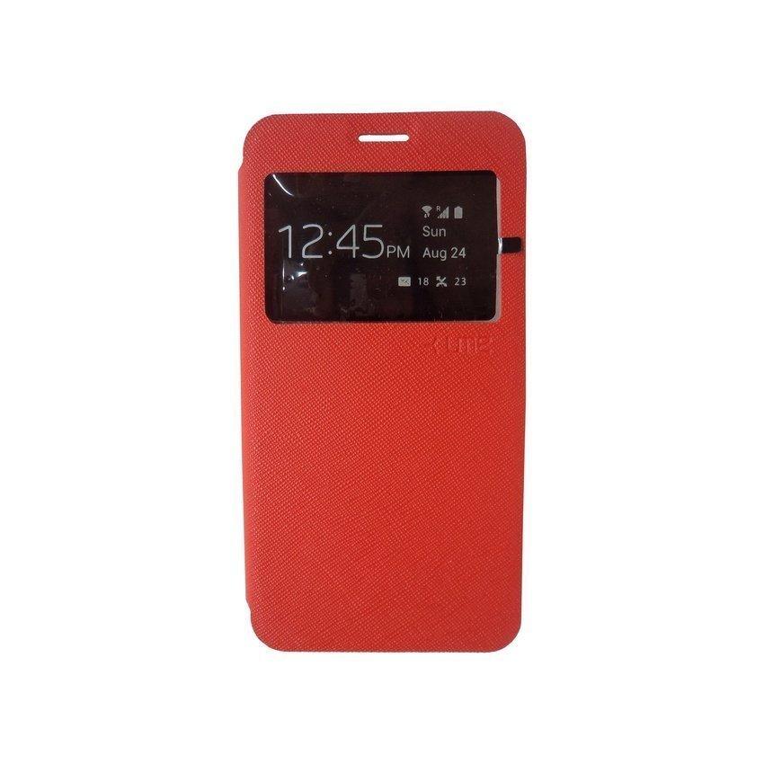 Ume Samsung Galaxy A5 Flip Cover View - Merah