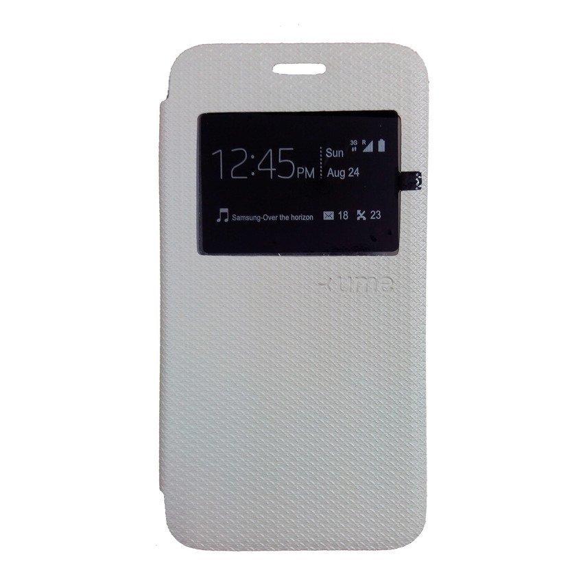 Ume Samsung Galaxy A5 Flip Cover View - Putih