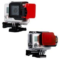 Underwater Sea Diving Red Color Correction Flip Filter For GoPro Hero 3.4 - Intl