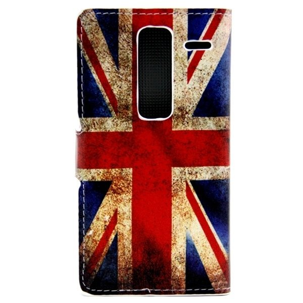 Union Jack Patterns Leather Flip Cover for LG Class/LG Zero (Multicolor) (Intl)