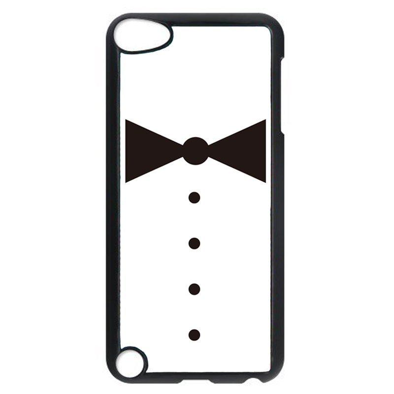 Unique Tie Pattern Phone Case for iPod Touch 4 (Black)