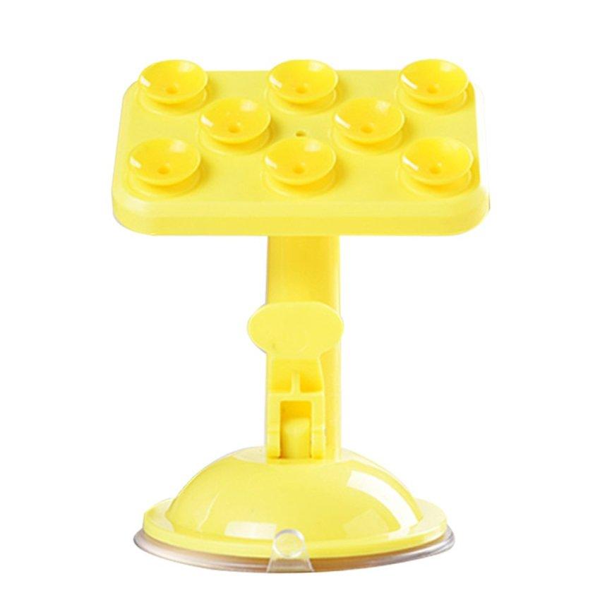 Universal 360 Degree Rotation Car Holder (Yellow) (Intl)