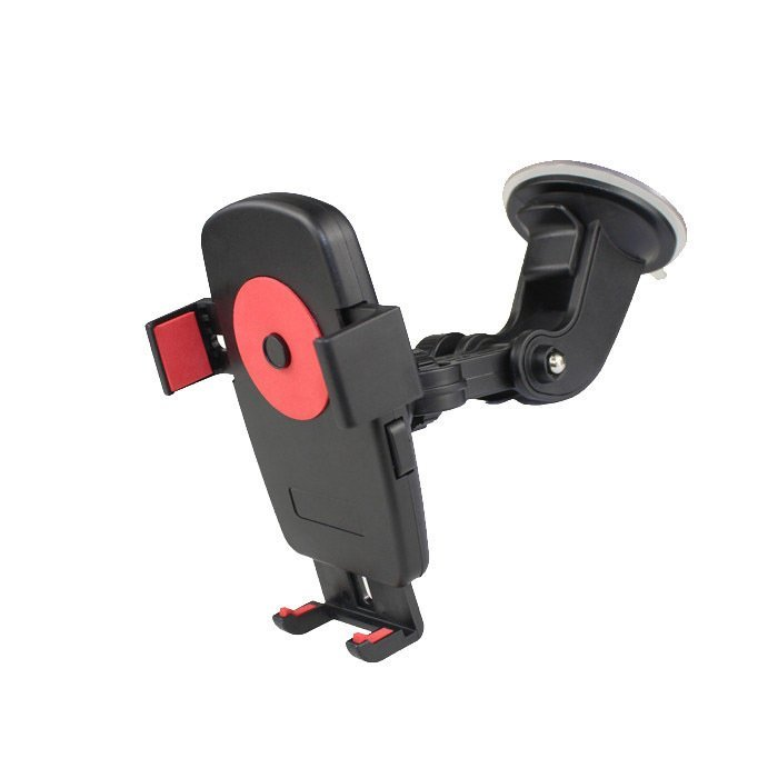 Universal Car Cradle Holder With Windscreen Suction Mount For iPhone SamSung Smartphone GPS( Black) (Intl)