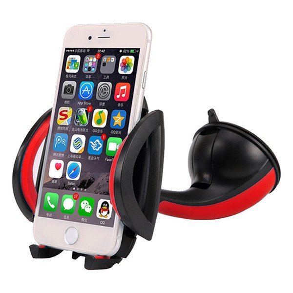 Universal Car Mini Suction Cup Mount Holder for Cell Phone iPhone Samsung Galaxy (Intl)