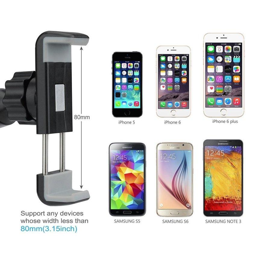 Universal Car Phone Holder Mount Cradle Dashboard & Windshield (Intl)