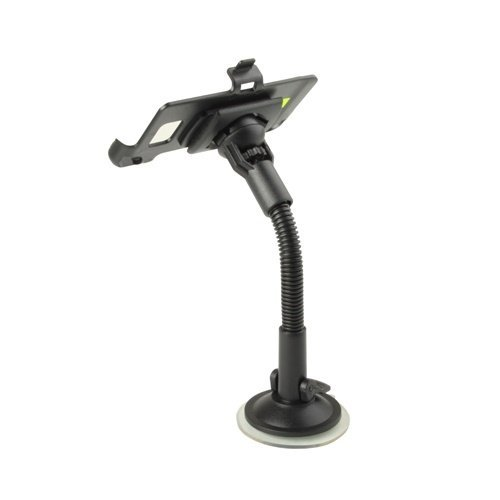 Universal Car Windshield Mount Phone Holder for Smartphone Samsung Galaxy S2 i9100 - Hitam