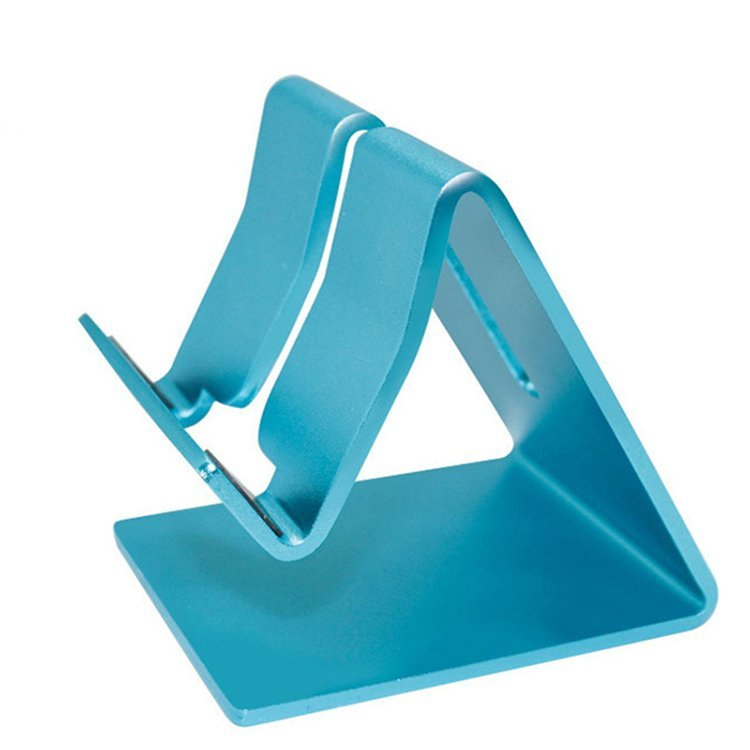 Universal Cell Phone Tablet Desk Stand Holder for iPad (Blue) (Intl)