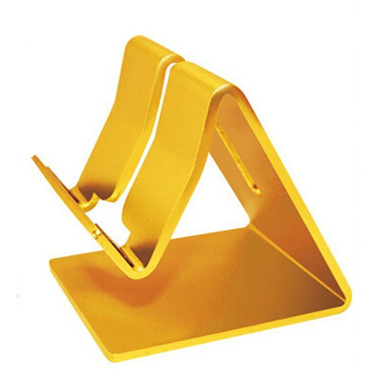 Universal Cell Phone Tablet Desk Stand Holder for iPad (Yellow) (Intl)