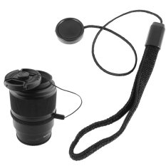 Universal DSLR Lens Cover Cap Holder Keeper Strap Cord String Leash Rope For Canon Nikon Sony Camera Accessories