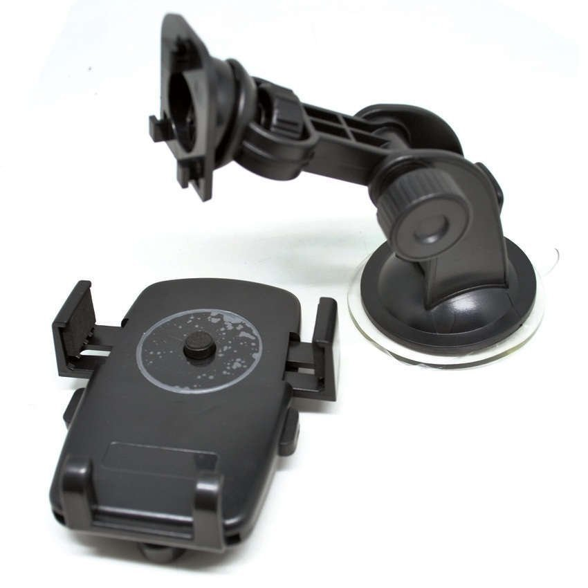 Universal Easy One Touch Car Mount Ultra Sticky Suction Pad - WF-363 - Black