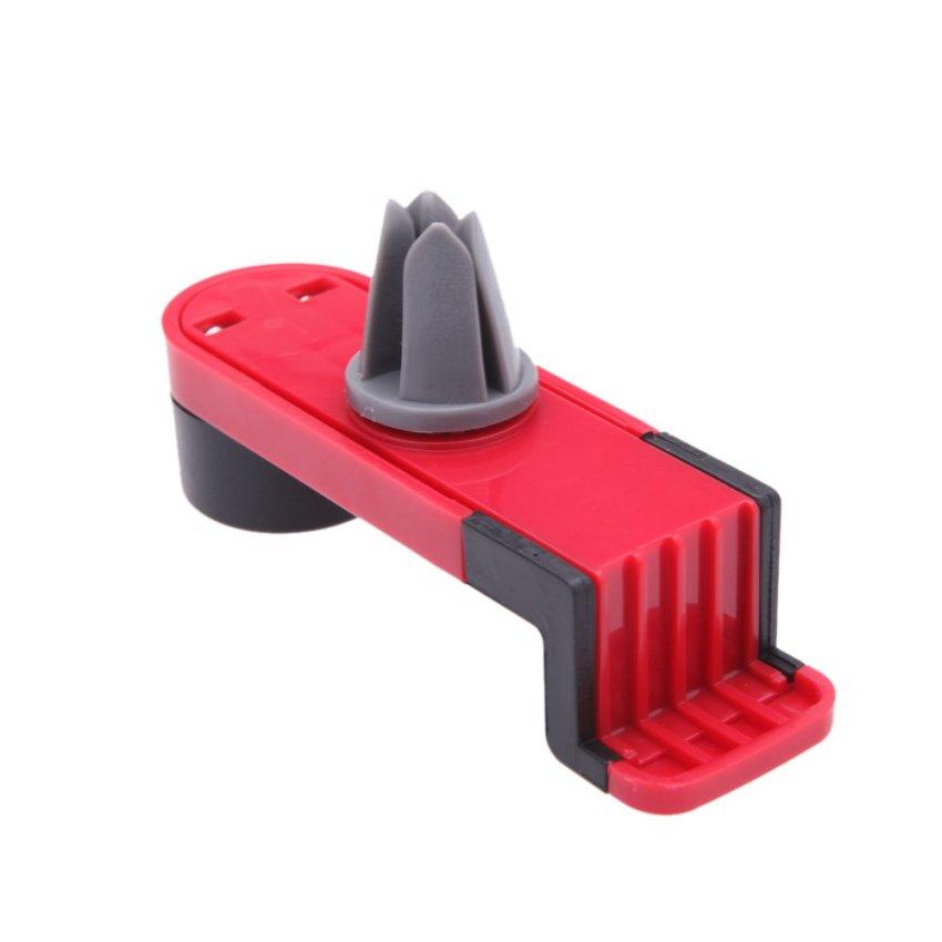 Universal Elastic Mobile Phone Holders Car Air Vent Holder (Red) (Intl)