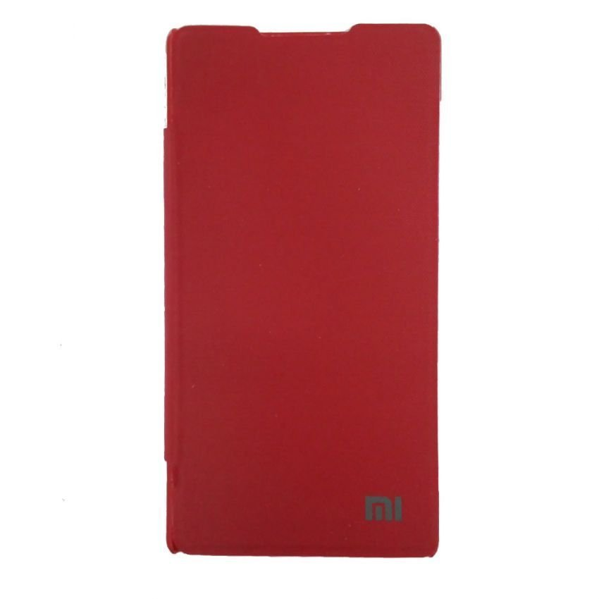 Universal Flip Cover For Xiaomi Redmi 1S - Merah