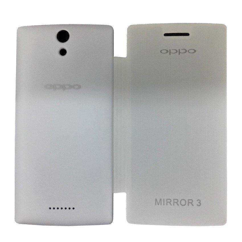 Universal Flip Cover OPPO Mirror 3 - Putih