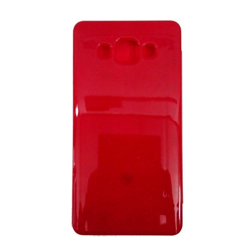 Universal Flip Cover Samsung Galaxy A5 - Merah