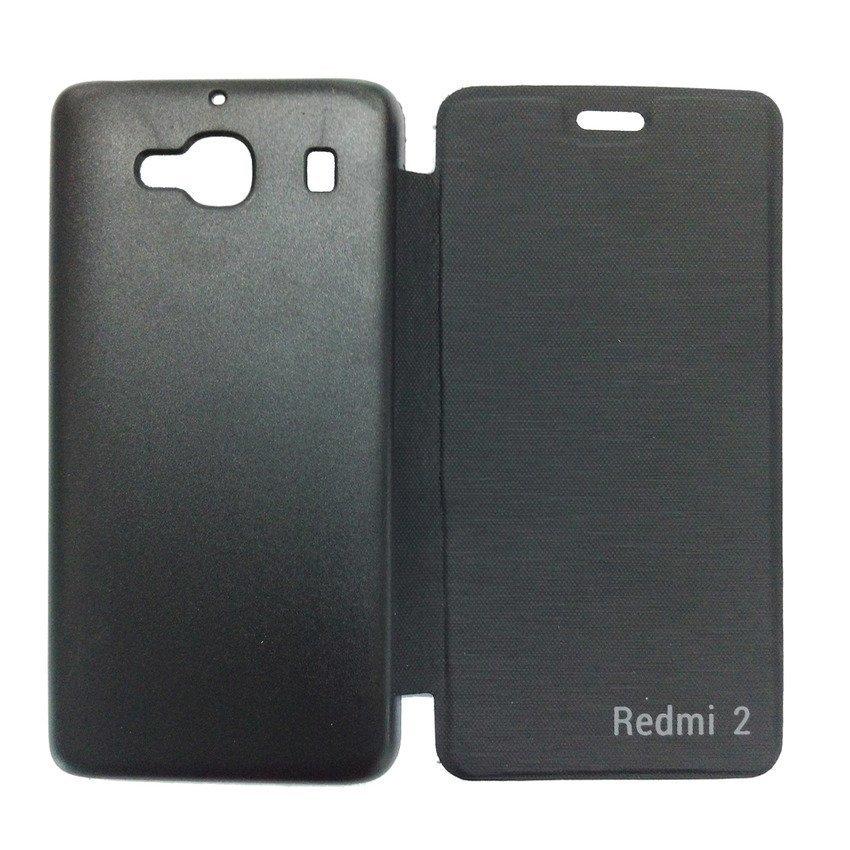 Universal Flip Cover Xiaomi Redmi 2 - Hitam