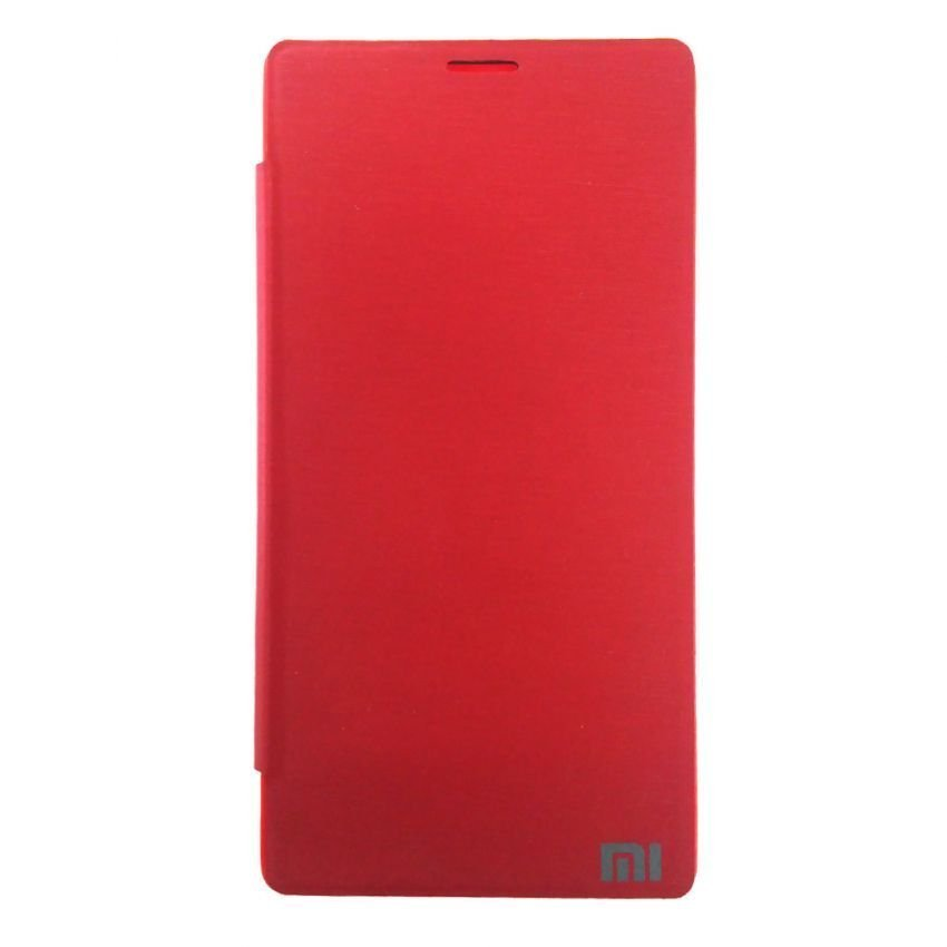 Universal Flip Cover Xiaomi Redmi Note - Merah
