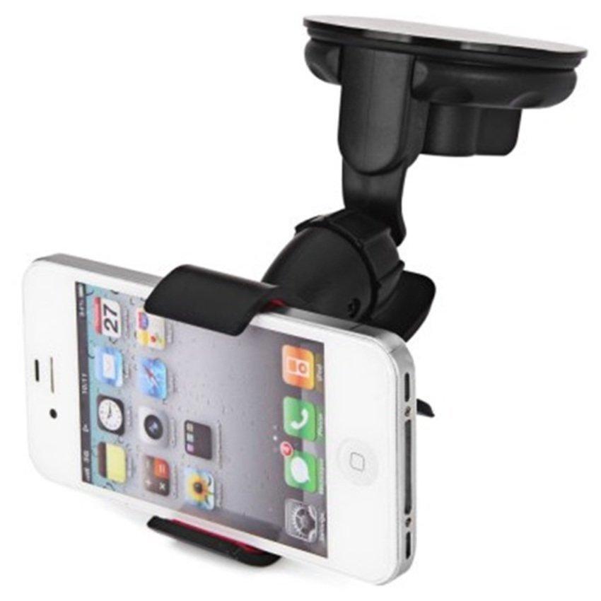 Universal Lazy Tripod Car Mount Holder for Smartphone - WF-362 - Hitam