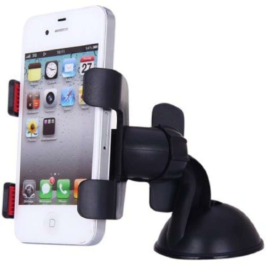 Universal Lazy Tripod Car Mount Holder for Smartphone - WF-363 - Hitam