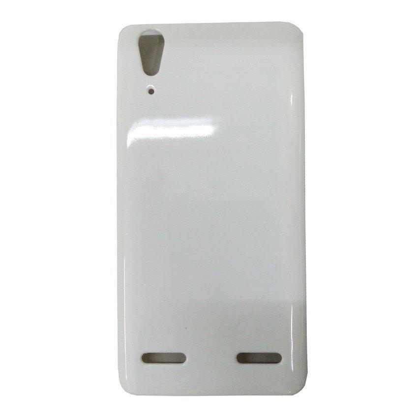 Universal Leather Case Lenovo A6000 - Putih