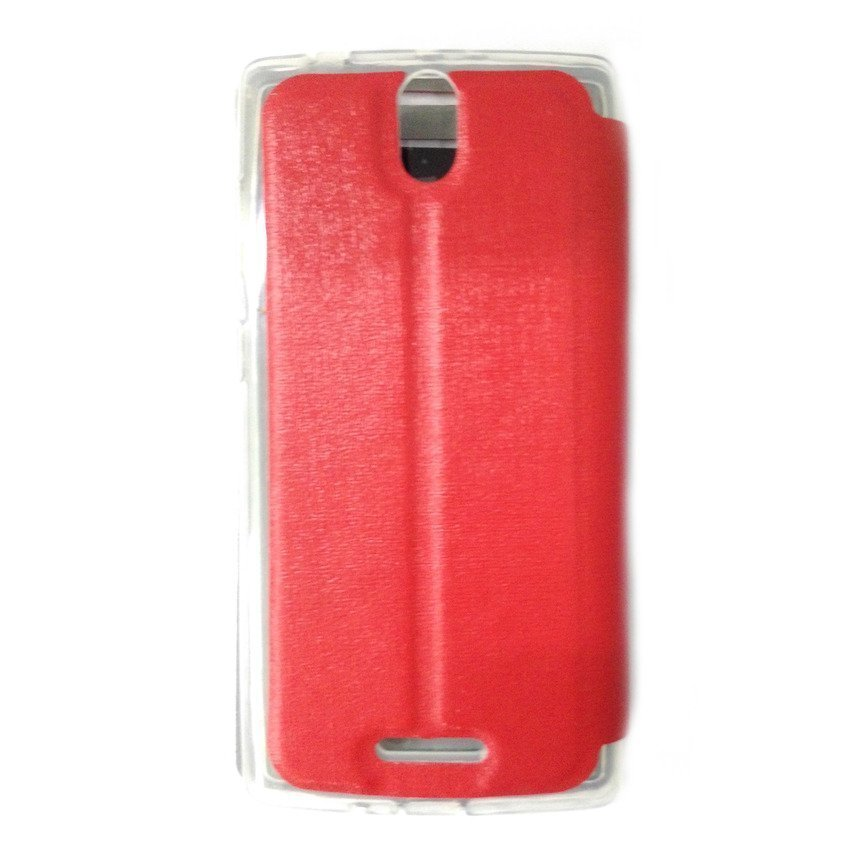 Universal Leather Case Oppo Mirror 3 - Merah