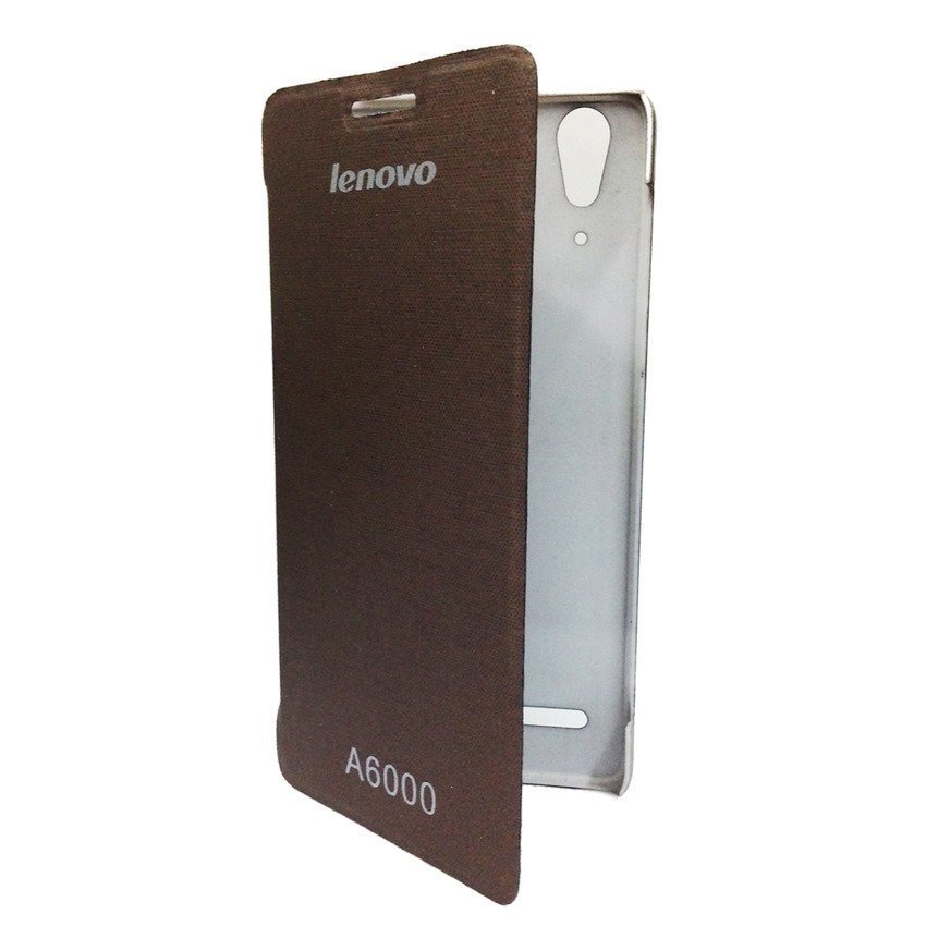 Universal Lenovo Flip Cover A6000 - Coklat