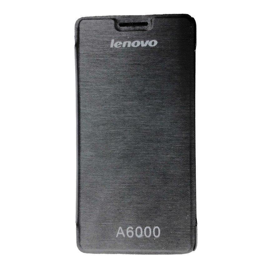 Universal Lenovo Flip Cover A6000 - Hitam