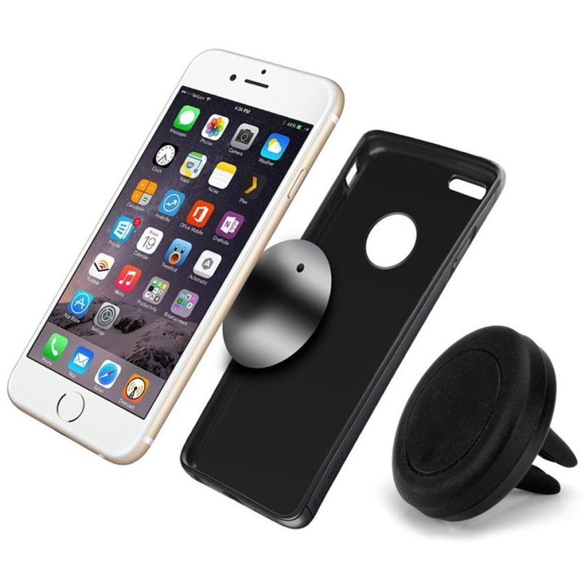 Universal Magnetic Air Vent Car Mount Holder for iPhone 6 Plus 6 5S 5 4S Samsung S6 Edge S6 HTC ONE M9 (Intl)