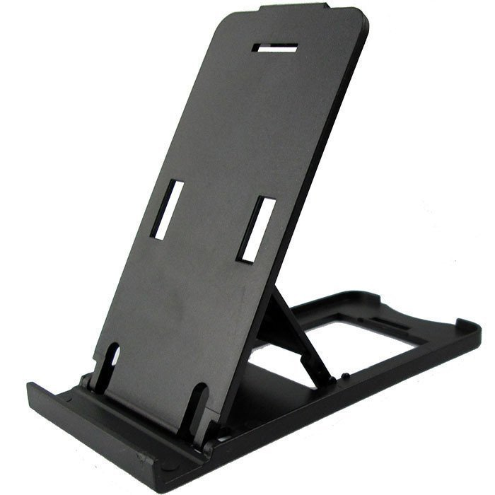 Universal Mobile Phone Portable Desktop Holder Mount Stand Cradle Bracket for Cell Phone Ipad Black (Intl)