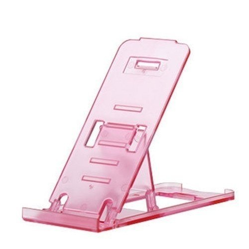 Universal Mobile Phone Portable Desktop Holder Mount Stand Cradle Bracket for Cell Phone Ipad (Pink) (Intl)