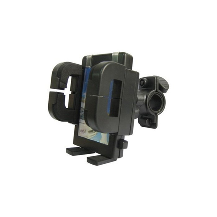 Universal Motor GPRS / Phone Holder Alat Motor/Sepeda up to 5.8 inch - Hitam