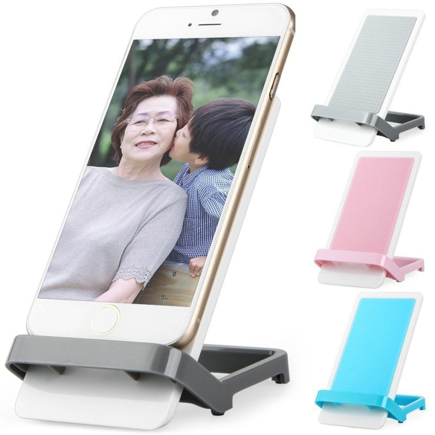 Universal Practical Mobile Phone Stand Holder (Blue) (Intl)